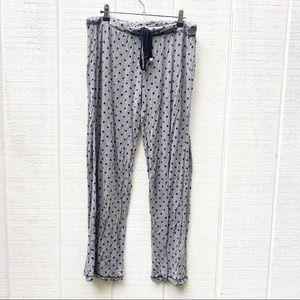 Honeydew Intimates pajama pants polka dots Large